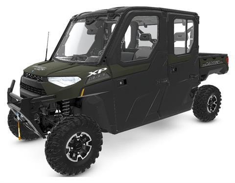 2020 Polaris Ranger Crew XP 1000 NorthStar Ultimate MB Quart Audio Package in Bigfork, Minnesota