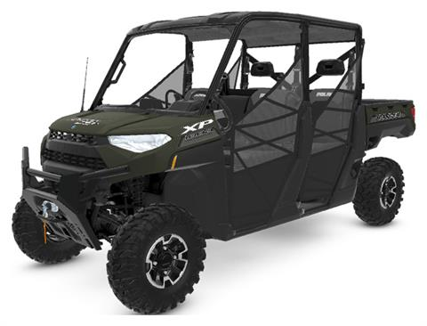2020 Polaris RANGER CREW XP 1000 Premium + Ride Command Package in Greenland, Michigan