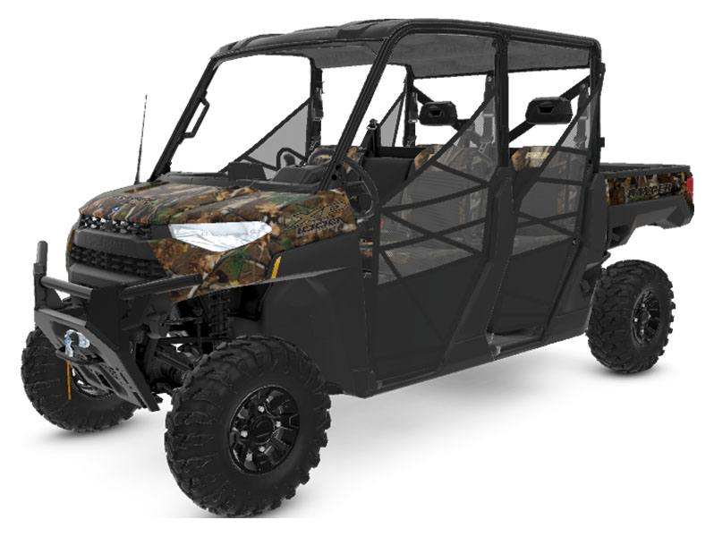 2020 Polaris RANGER CREW XP 1000 Premium + Ride Command Package in Eureka, California - Photo 1
