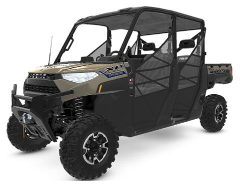 2020 Polaris RANGER CREW XP 1000 Premium + Ride Command Package in Monroe, Michigan