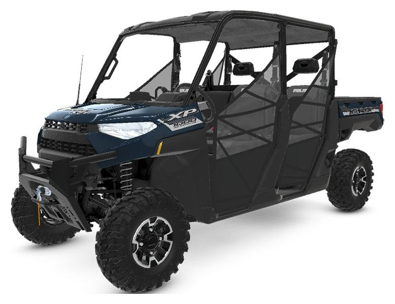 2020 Polaris RANGER CREW XP 1000 Premium + Ride Command Package in Ukiah, California - Photo 1