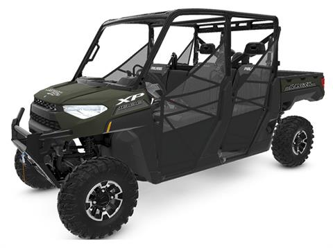 2020 Polaris Ranger Crew XP 1000 Premium Winter Prep Package in Milford, New Hampshire