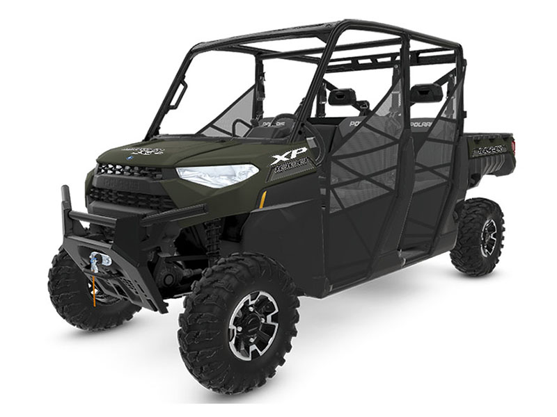 2020 Polaris Ranger Crew XP 1000 Premium Winter Prep Package in Ottumwa, Iowa - Photo 1