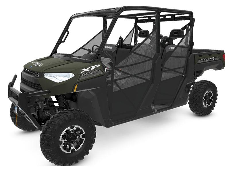2020 Polaris Ranger Crew XP 1000 Premium Winter Prep Package in Monroe, Michigan - Photo 1