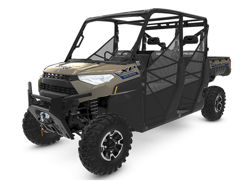 2020 Polaris Ranger Crew XP 1000 Premium Winter Prep Package in Redding, California - Photo 1