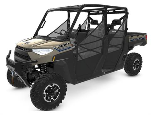 2020 Polaris Ranger Crew XP 1000 Premium Winter Prep Package in Adams, Massachusetts - Photo 1