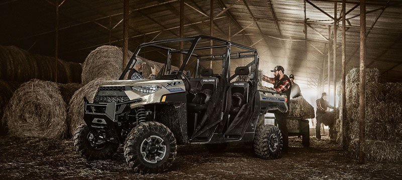2020 Polaris Ranger Crew XP 1000 Premium Winter Prep Package in Marshall, Texas - Photo 4