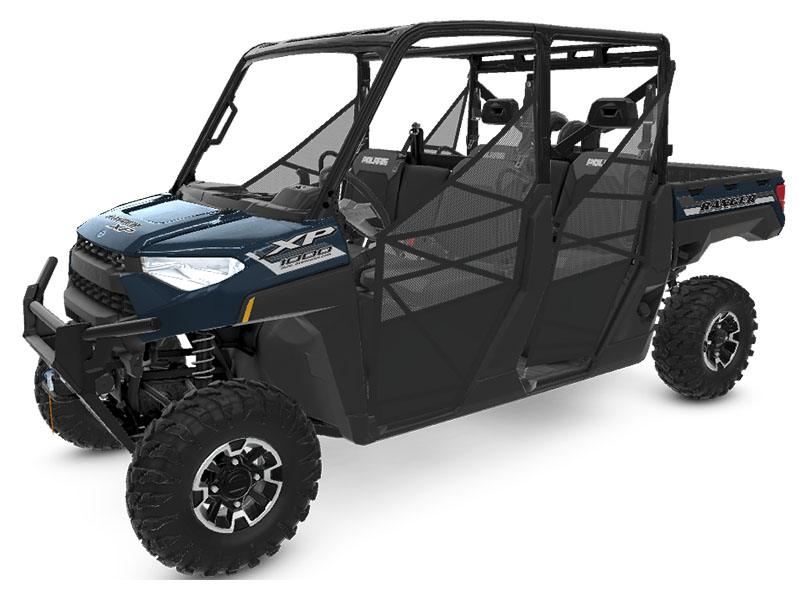 2020 Polaris Ranger Crew XP 1000 Premium Winter Prep Package in Conroe, Texas - Photo 1