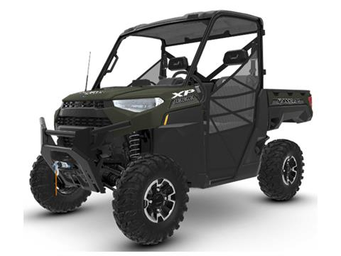 2020 Polaris RANGER XP 1000 Premium + Ride Command Package in Monroe, Michigan