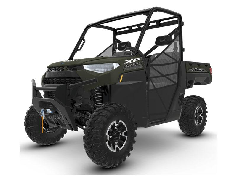 2020 Polaris Ranger XP 1000 Premium Winter Prep Package in Afton, Oklahoma - Photo 1