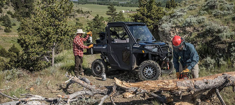 2020 Polaris Ranger XP 1000 Premium Winter Prep Package in Kansas City, Kansas - Photo 9