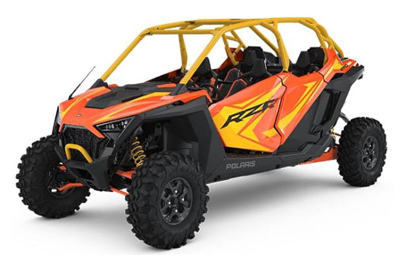 2020 Polaris RZR PRO XP 4 Orange Madness LE in Mason City, Iowa - Photo 1