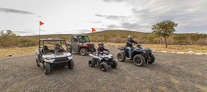 2021 Polaris Outlaw 70 EFI in Elma, New York - Photo 2