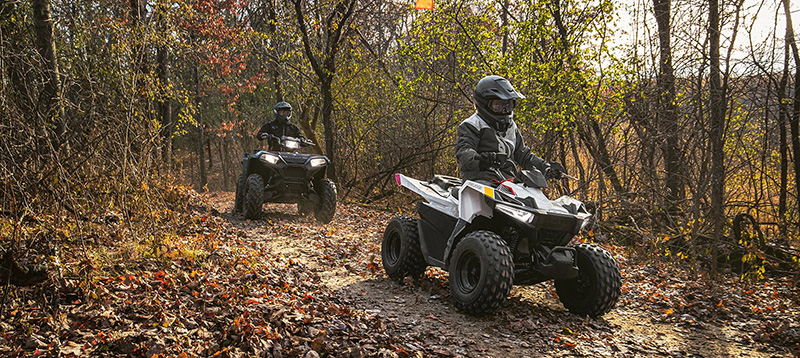 2021 Polaris Outlaw 70 EFI in Barre, Massachusetts - Photo 4