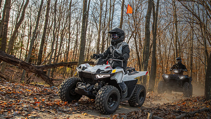 2021 Polaris Outlaw 70 EFI in Lewiston, Maine - Photo 3