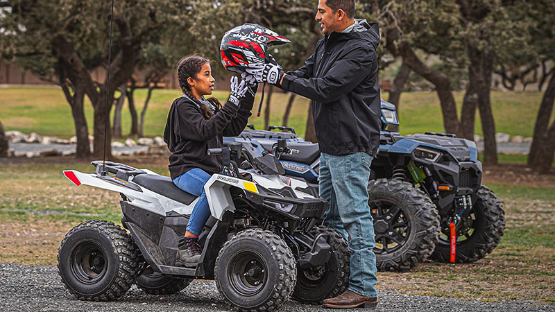 2021 Polaris Outlaw 70 EFI in Hudson Falls, New York - Photo 4