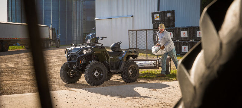 2021 Polaris Sportsman 570 Premium in Danbury, Connecticut - Photo 2