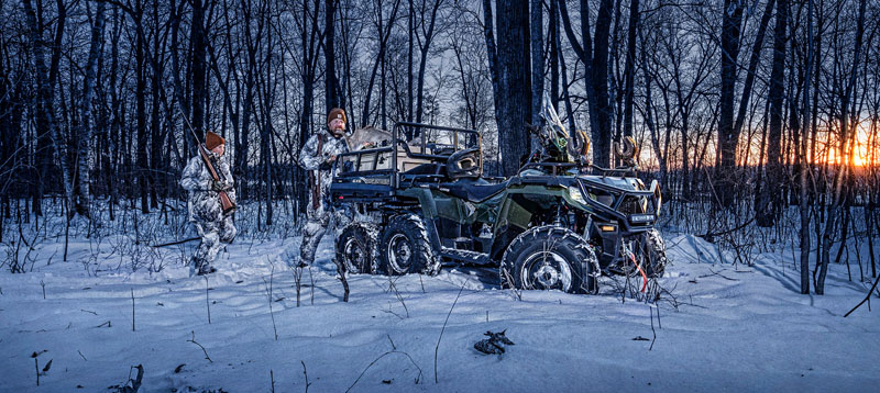 2021 Polaris Sportsman 6x6 570 in Greenland, Michigan - Photo 2