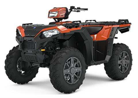 2021 Polaris Sportsman 850 Premium in Ironwood, Michigan