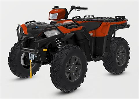 2021 Polaris Sportsman 850 Premium Trail Package in Hillman, Michigan