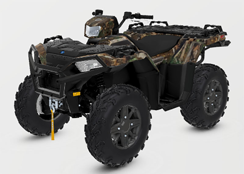 2021 Polaris Sportsman 850 Premium Trail Package in Iowa City, Iowa - Photo 1