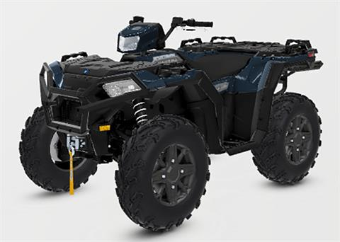 2021 Polaris Sportsman 850 Premium Trail Package in Hancock, Wisconsin