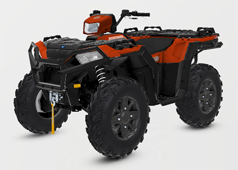 2021 Polaris Sportsman 850 Premium Trail Package in Downing, Missouri - Photo 1