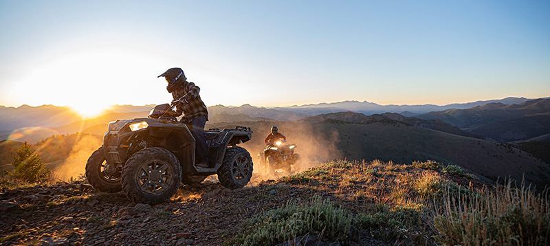 2021 Polaris Sportsman 850 Ultimate Trail Edition in Merced, California - Photo 2