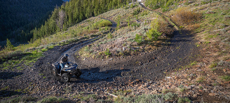 2021 Polaris Sportsman 850 Ultimate Trail Edition in Beaver Dam, Wisconsin - Photo 4