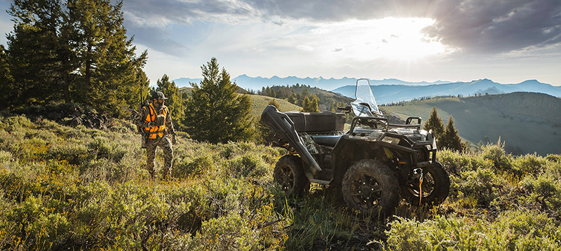 2021 Polaris Sportsman 850 Ultimate Trail Edition in Columbia, South Carolina - Photo 5