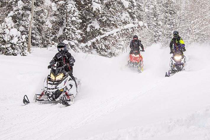 2021 Polaris 550 RMK EVO 144 ES in Dimondale, Michigan - Photo 3