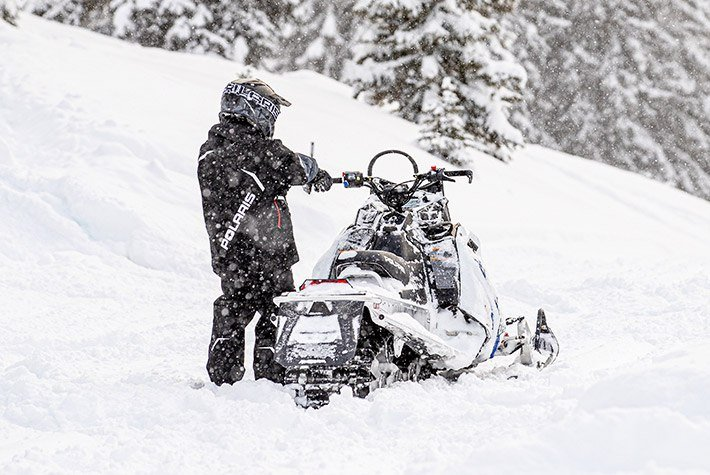 2021 Polaris 550 RMK EVO 144 ES in Fairbanks, Alaska - Photo 4