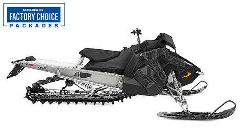 2021 Polaris 600 PRO RMK 155 Factory Choice in Saint Johnsbury, Vermont