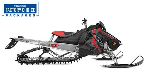 2021 Polaris 600 PRO RMK 155 Factory Choice in Hancock, Wisconsin