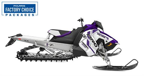 2021 Polaris 600 PRO RMK 155 Factory Choice in Malone, New York - Photo 1