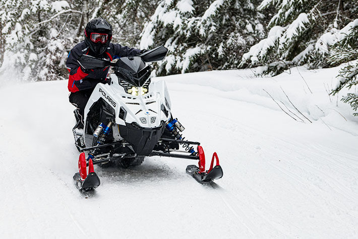 2021 Polaris 650 Indy VR1 129 SC in Center Conway, New Hampshire - Photo 2