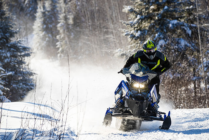 2021 Polaris 650 Indy VR1 129 SC in Center Conway, New Hampshire - Photo 3