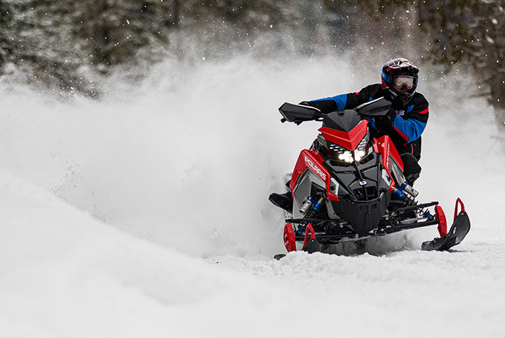 2021 Polaris 650 Indy VR1 137 SC in Lewiston, Maine