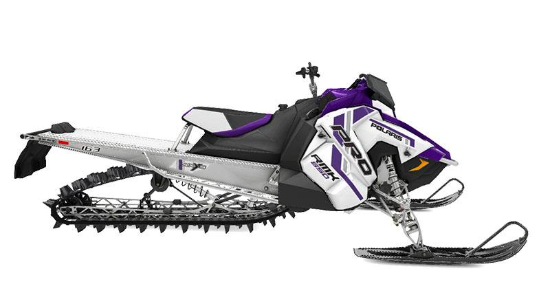 2021 Polaris 850 PRO RMK QD2 163 3 in. SC in Lewiston, Maine - Photo 1