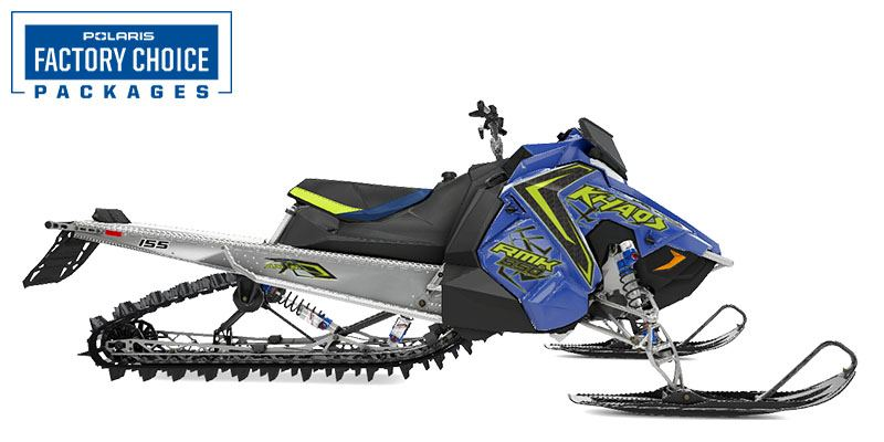 2021 Polaris 850 RMK KHAOS 155 2.6 in. Factory Choice in Newport, Maine