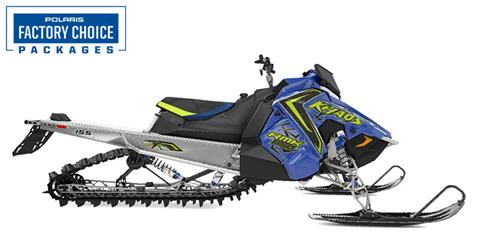 2021 Polaris 850 RMK KHAOS 155 2.6 in. Factory Choice in Hancock, Wisconsin