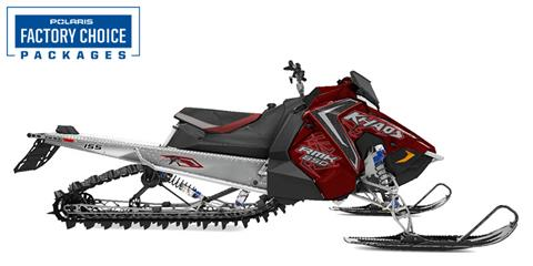 2021 Polaris 850 RMK KHAOS 155 2.6 in. Factory Choice in Woodruff, Wisconsin - Photo 1