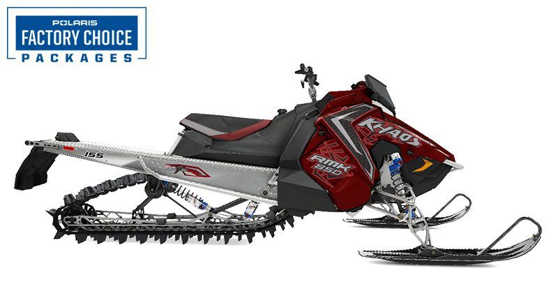 2021 Polaris 850 RMK KHAOS 155 3 in. Factory Choice in Newport, Maine - Photo 1