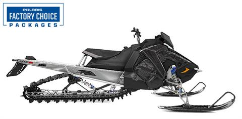 2021 Polaris 850 RMK KHAOS 163 2.6 in. Factory Choice in Woodruff, Wisconsin