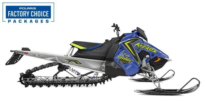 2021 Polaris 850 RMK KHAOS 163 2.6 in. Factory Choice in Mountain View, Wyoming - Photo 1