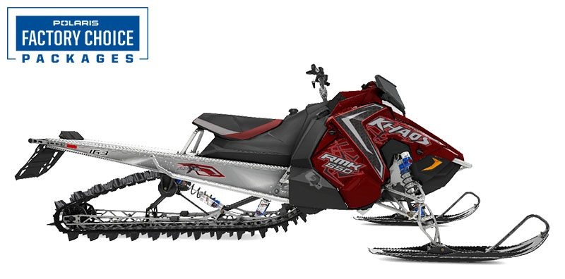 2021 Polaris 850 RMK KHAOS 163 2.6 in. Factory Choice in Antigo, Wisconsin - Photo 1