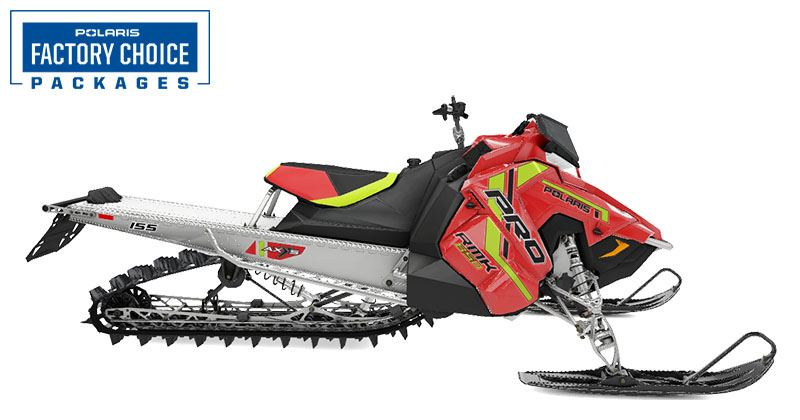2021 Polaris 850 PRO RMK 155 2.6 in. Factory Choice in Littleton, New Hampshire - Photo 1