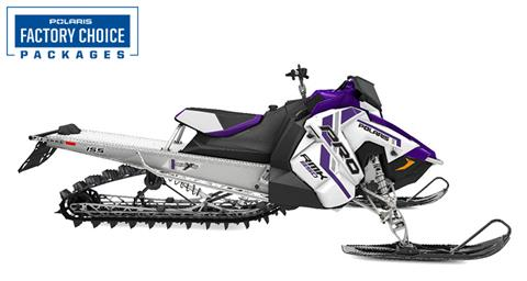 2021 Polaris 850 PRO RMK 155 2.6 in. Factory Choice in Hancock, Wisconsin