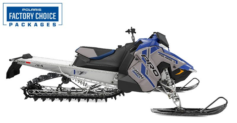 2021 Polaris 850 PRO RMK 155 3 in. Factory Choice in Hillman, Michigan