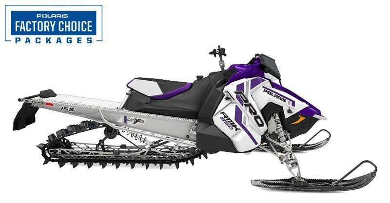 2021 Polaris 850 PRO RMK 155 3 in. Factory Choice in Park Rapids, Minnesota - Photo 1
